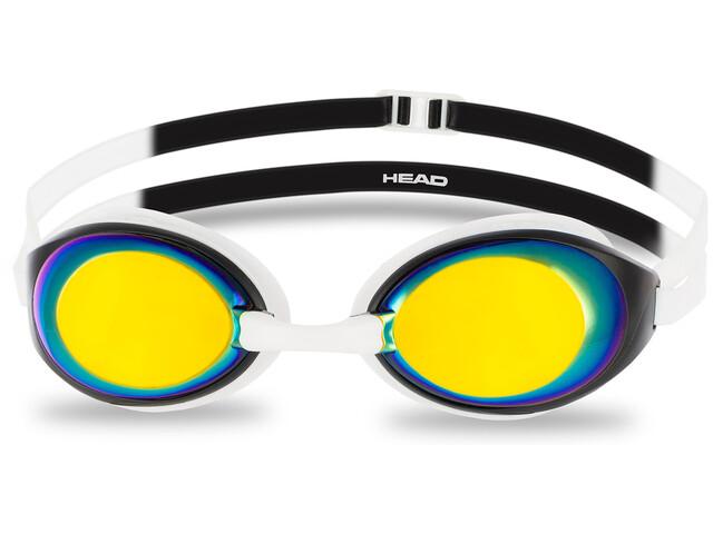 Head HCB Comp Mirrored Lunettes de protection, white-black-smoke